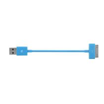 Син синхронизиращ и зареждащ кабел на Incase - 15 см
