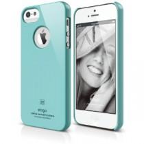 Тънък светлосин кейс Elago за Apple iPhone SE/5/5S