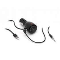Griffin iTrip Aux cable with controls and lightning connector - Black