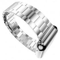 Тънка HOCO Grand Series сребриста стоманена верижка за Apple Watch - 42 мм