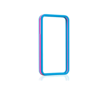Синьо-розов пластмасов бъмпер Gear4 за Apple iPhone 5