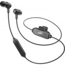 Черни безжични слушалки тип тапи от JBL