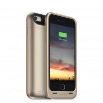 Златист защитен кейс Mophie с вградена батерия за iPhone 6