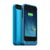 Mophie - Juice Pack Helium Rechargeable Battery Case for iPhone5/5S - Blue