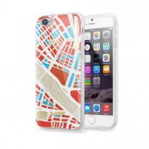 Защитен кейс Laut Nomad за iPhone 6 Plus с шарка на град