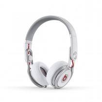 Beats Mixr On-Ear DJ бели слушалки с рамка и наушници с размер на ухото по дизайн на Давид Гета