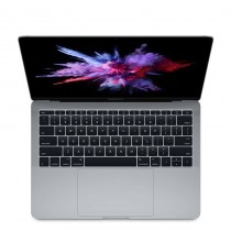 "Тъмносив лаптоп Apple MacBook Pro 13"" Space Grey с Retina дисплей, двуядрен Intel Core i5 процесор, памет 128GB - международна клавиатура"