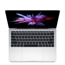 "Сребрист лаптоп Apple MacBook Pro 13"" Silver с Retina дисплей, двуядрен Intel Core i5 процесор, памет 128GB - българска клавиатура"