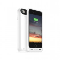 Mophie - Rechargeable External Battery Case made for iPhone 6 (2750 mAh) - White