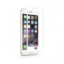 Подсилен протектор за дисплей тип фолио Moshi срещу отблясъци за Apple iPhone 6 с бели краища
