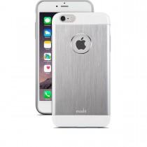 Тънък алуминиев сребрист кейс Moshi за Apple iPhone 6 Plus