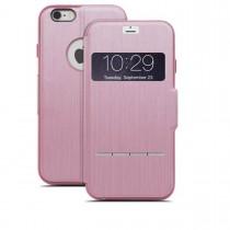 Розов сгъваем чувствителен на допир кейс Moshi за Apple iPhone 6 Plus