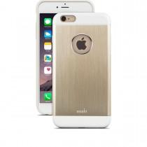 Тънък алуминиев сатененозлатист кейс Moshi за Apple iPhone 6 Plus