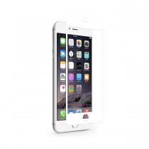 Тънък подсилен протектор за дисплей Moshi от стъкло за Apple iPhone 6 с бели краища