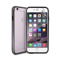 Сребрист защитен бъмпер на Puro за iPhone 6