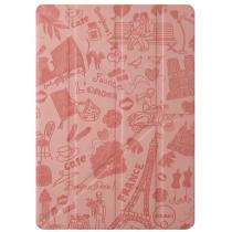 Розов кейс О!Coat Travel за таблет iPad Air на Ozaki