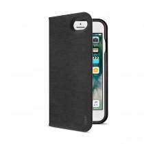 Черен калъф тип портфейл с функция стойка FolioJacket от Artwizz за смартфон Apple iPhone 7