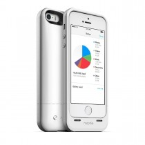 Mophie - SpacePack 16GB for iPhone 5/5s - White