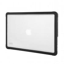Черен подсилен кейс Dux от STM за лаптоп Apple MacBook 13''