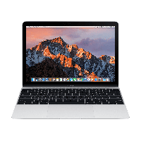 "Лаптоп MacBook 12"" Silver Retina дисплей, 8GB памет, 512GB SSD и Core m5 1.2GHz процесор - сребрист цвят"