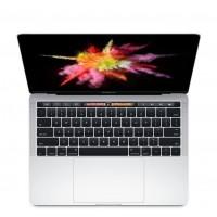 "Сребрист лаптоп Apple MacBook Pro 13"" с Touch Bar с интегриран Touch ID сензор, двуядрен Intel Core i5 процесор, памет 256GB - българска клавиатура"