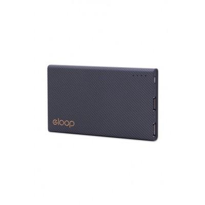Externí baterie 11 000 mAh ELOOP E12, černá