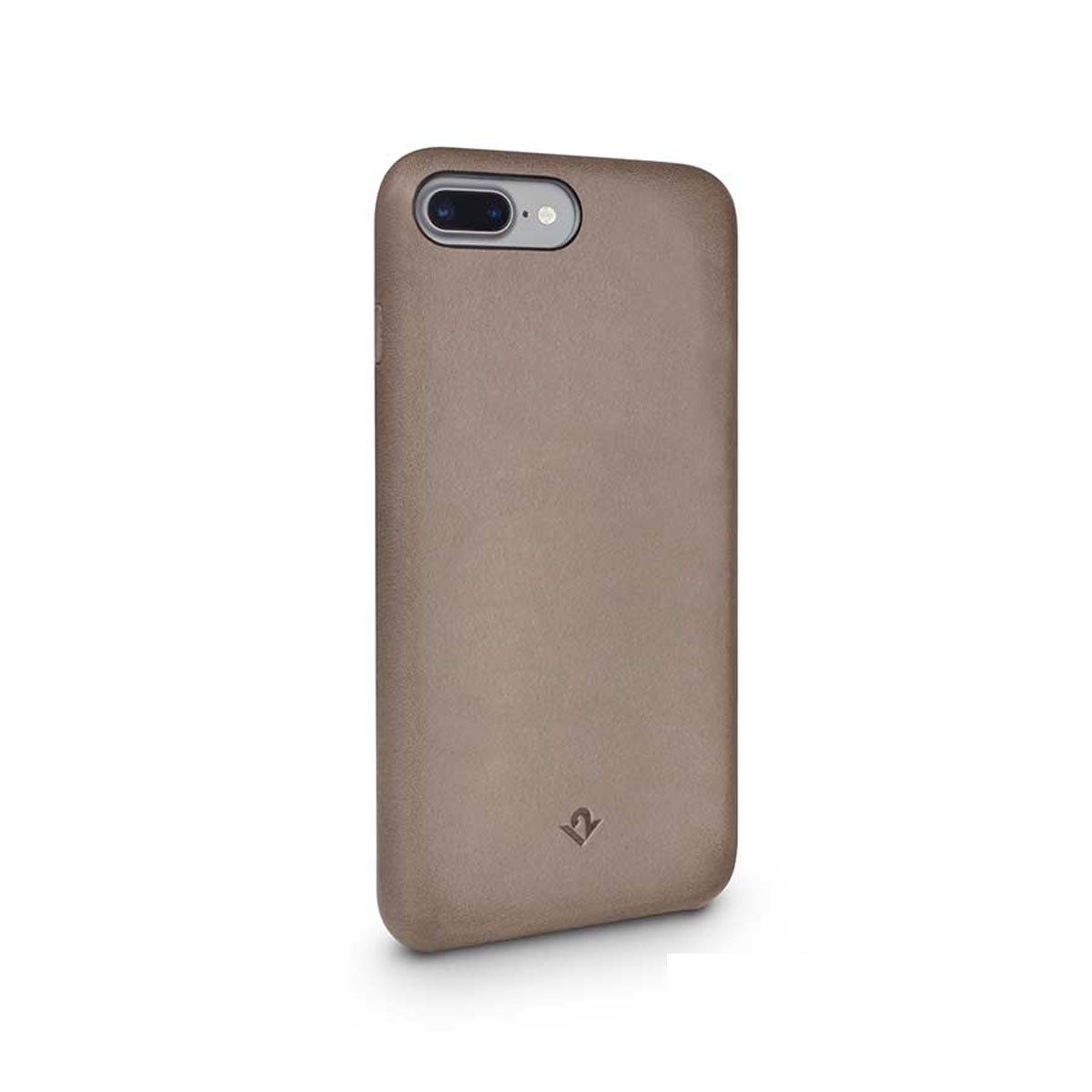 TwelveSouth Relaxed Leather Clip for iPhone 7 Plus - Warm Taupe