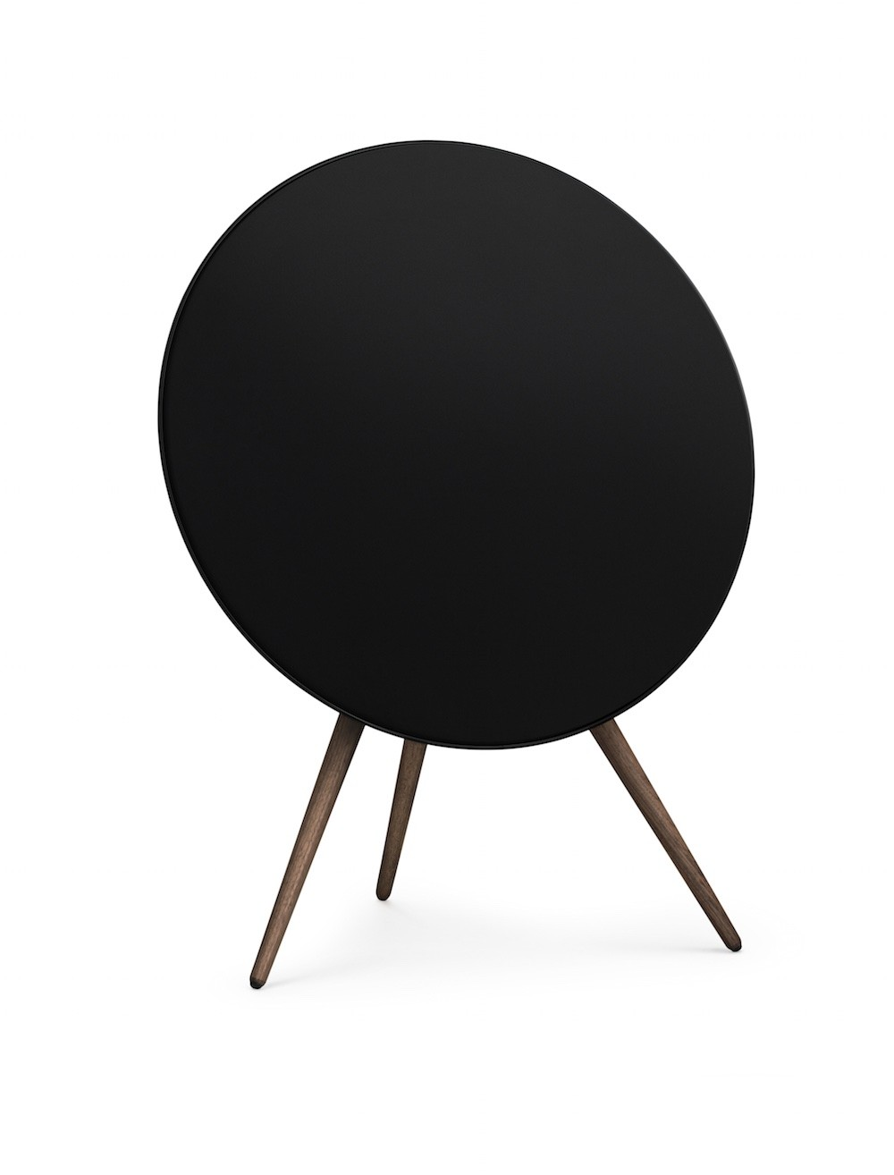 B&O BeoPlay A9 Black with walnut legs