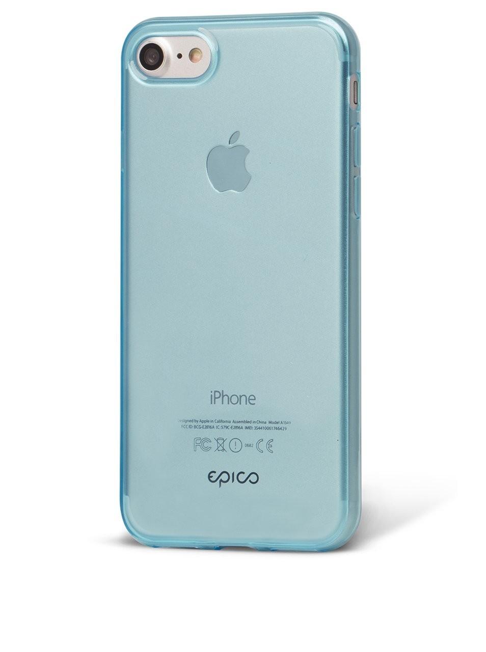 Kryt pro iPhone 7 Plus EPICO TWIGGY GLOSS - modrý
