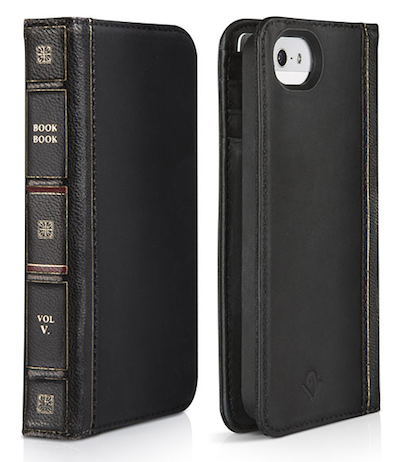 TwelveSouth BookBook for iPhone 5 - Black