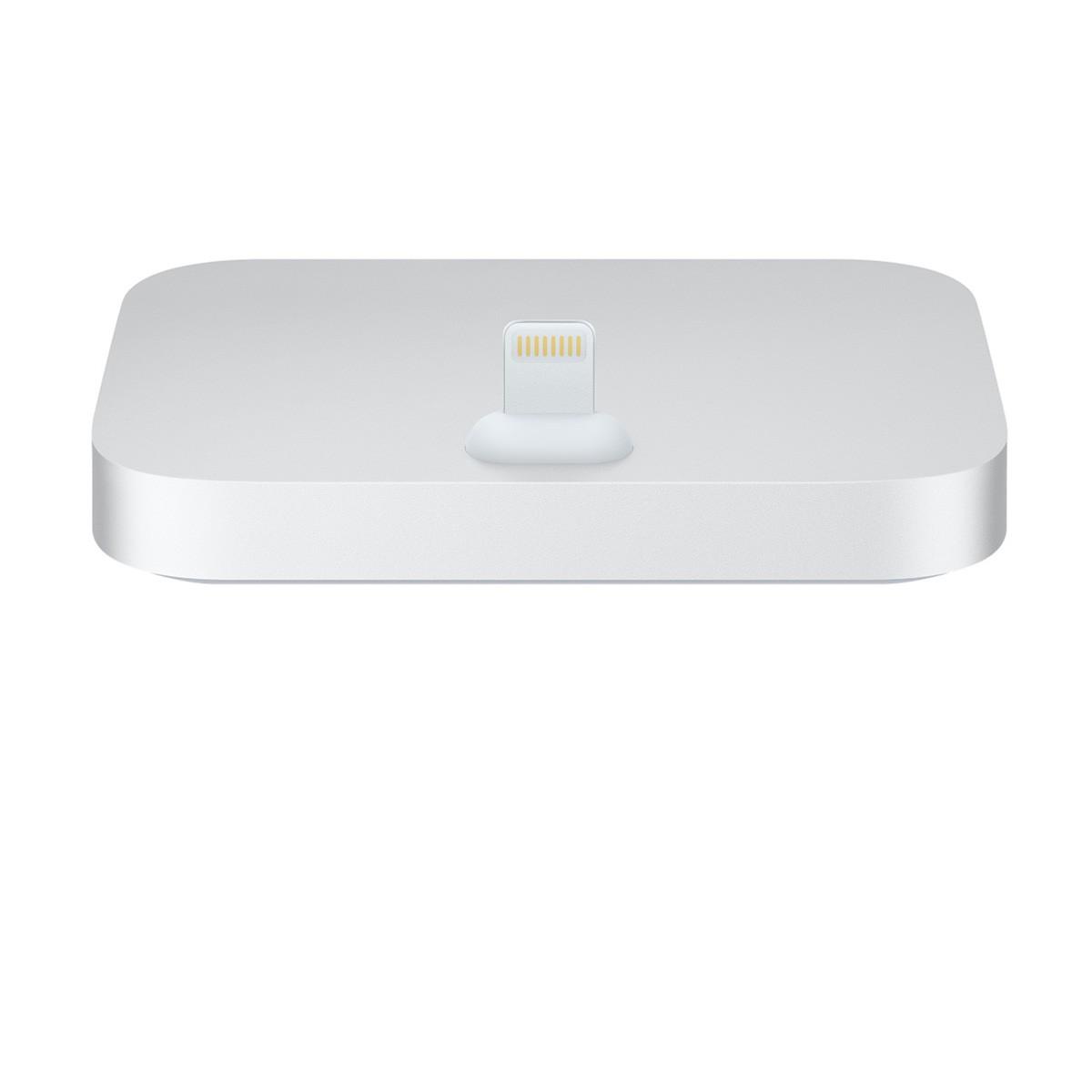 Apple iPhone Lightning Dock - stříbrný ml8j2zm/a