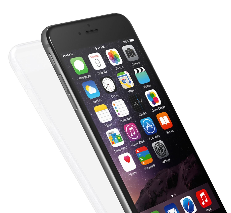 Kryt na iPhone 6s / 6 Plus Power Support Air Jacket - průhledný