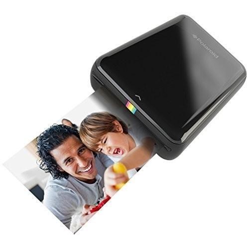 Fototiskárna Polaroid ZIP pro iOS, bezdrátová, mobilní, černá