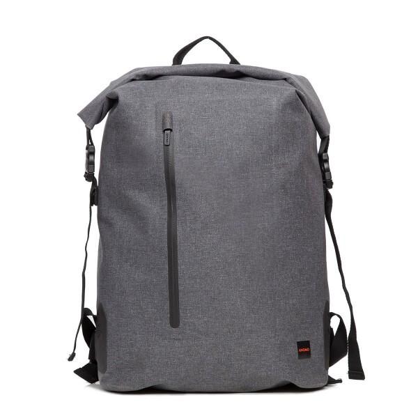 Knomo CROMWELL rolovací batoh pro MacBook do velikosti 15 palců - šedý