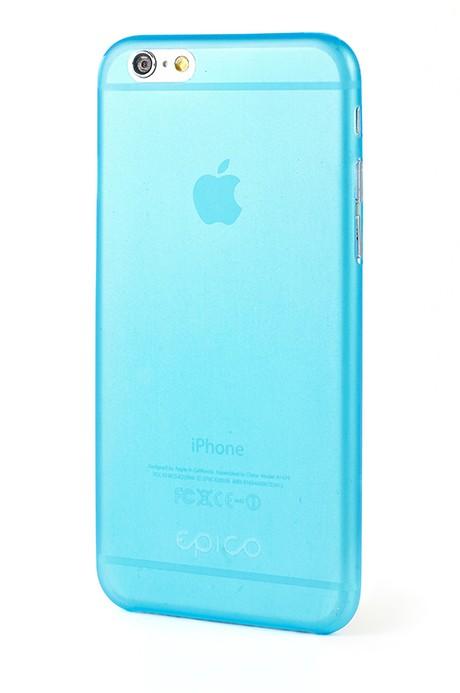 EPICO TWIGGY MATT, ultratenký plastový kryt pro iPhone 6 Plus, modrý