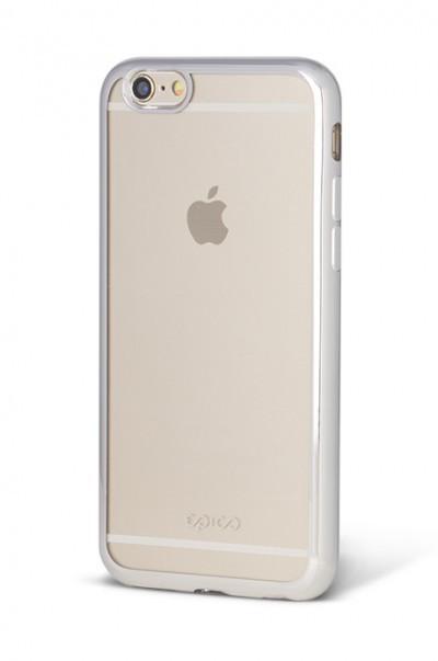 EPICO BRIGHT, kryt pro iPhone 6/6s - stříbrný