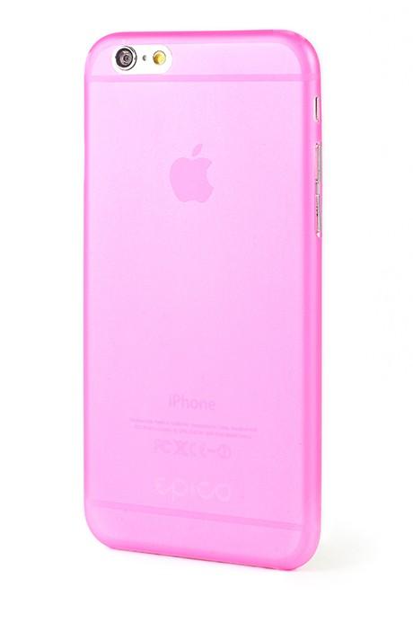 Kryt na iPhone 6 EPICO TWIGGY MATT - růžový