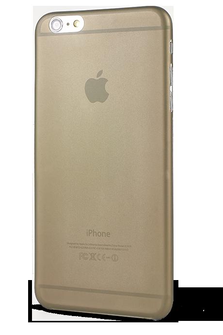 EPICO TWIGGY MATT, ultratenký plastový kryt pro iPhone 6 Plus, šedý