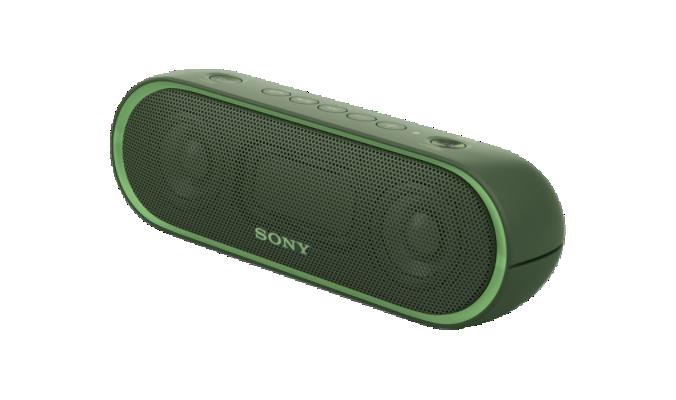 Sony SRS XB-20, bezdrátový reproduktor - zelený