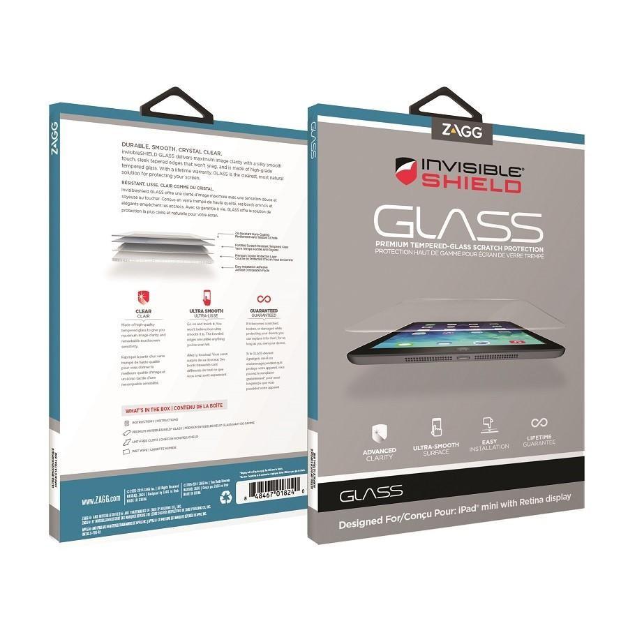 Zagg invisibleSHIELD Glass, ochranné sklo pro iPad Air, iPad Pro