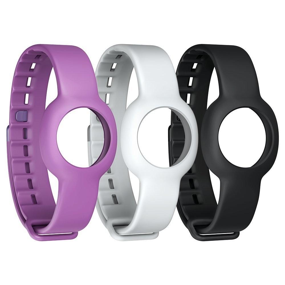 Jawbone široké pásky na ruku pro UP MOVE černý, bílý, fialový