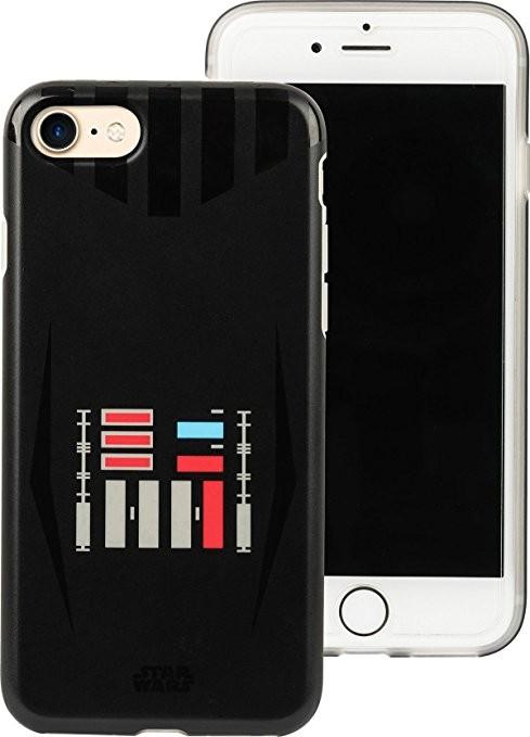 Tribe Star Wars Darth Vader, kryt pro iPhone 6s / 7 - černý