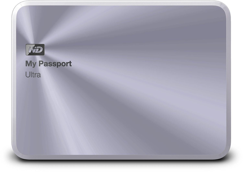 WD My Passport Ultra Metal Edition, 1TB disk, USB 3.0, stříbrný