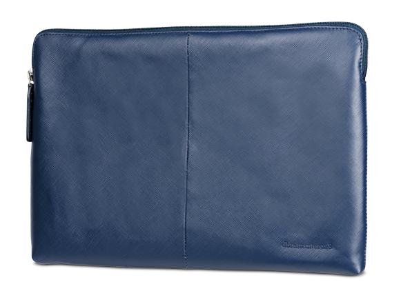 """dBramante kožený obal Paris - MacBook 12"""", půlnočně modrý"""