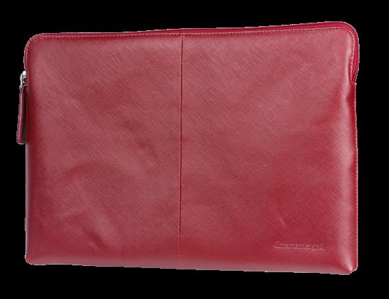 """dBramante kožený obal Paris - MacBook Pro 13"""", červený"""