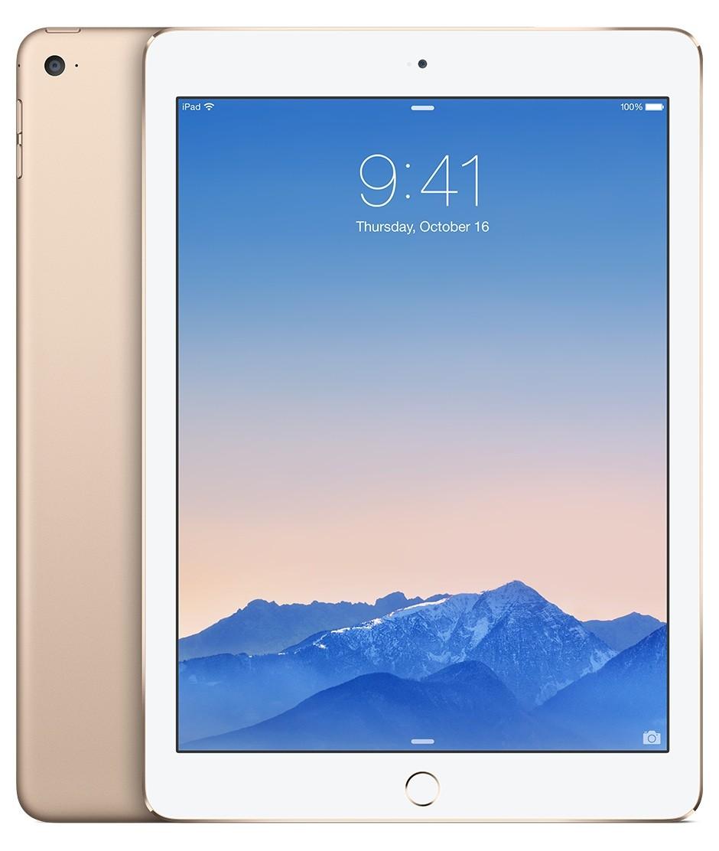 iPad Air 2 Wi-Fi + Cellular 16GB – zlatý (rozbalené, záruka a odpovědnost z vad 12 měsíců)