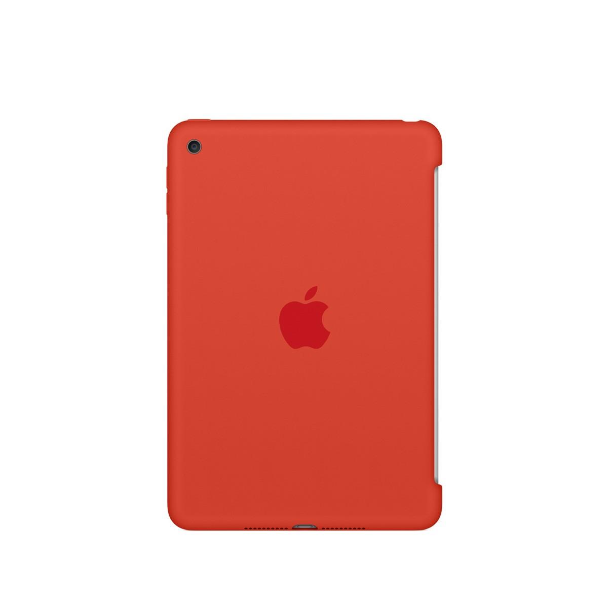 Apple Silikonové pouzdro na iPad mini 4 – oranžové mld42zm/a