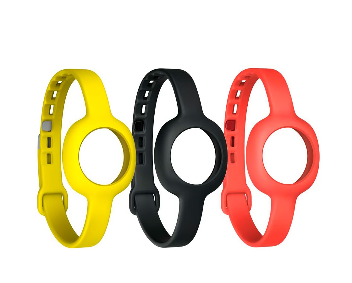 Jawbone tenké pásky na ruku pro UP MOVE černý, červený, žlutý