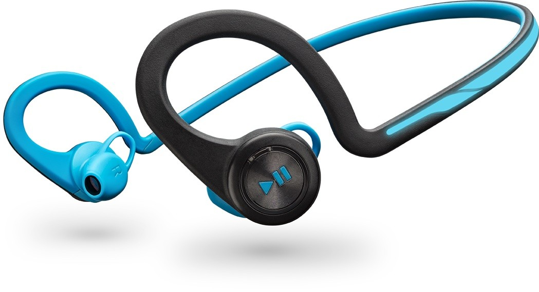 Bezdrátová sluchátka Plantronics BackBeat Fit, modrá