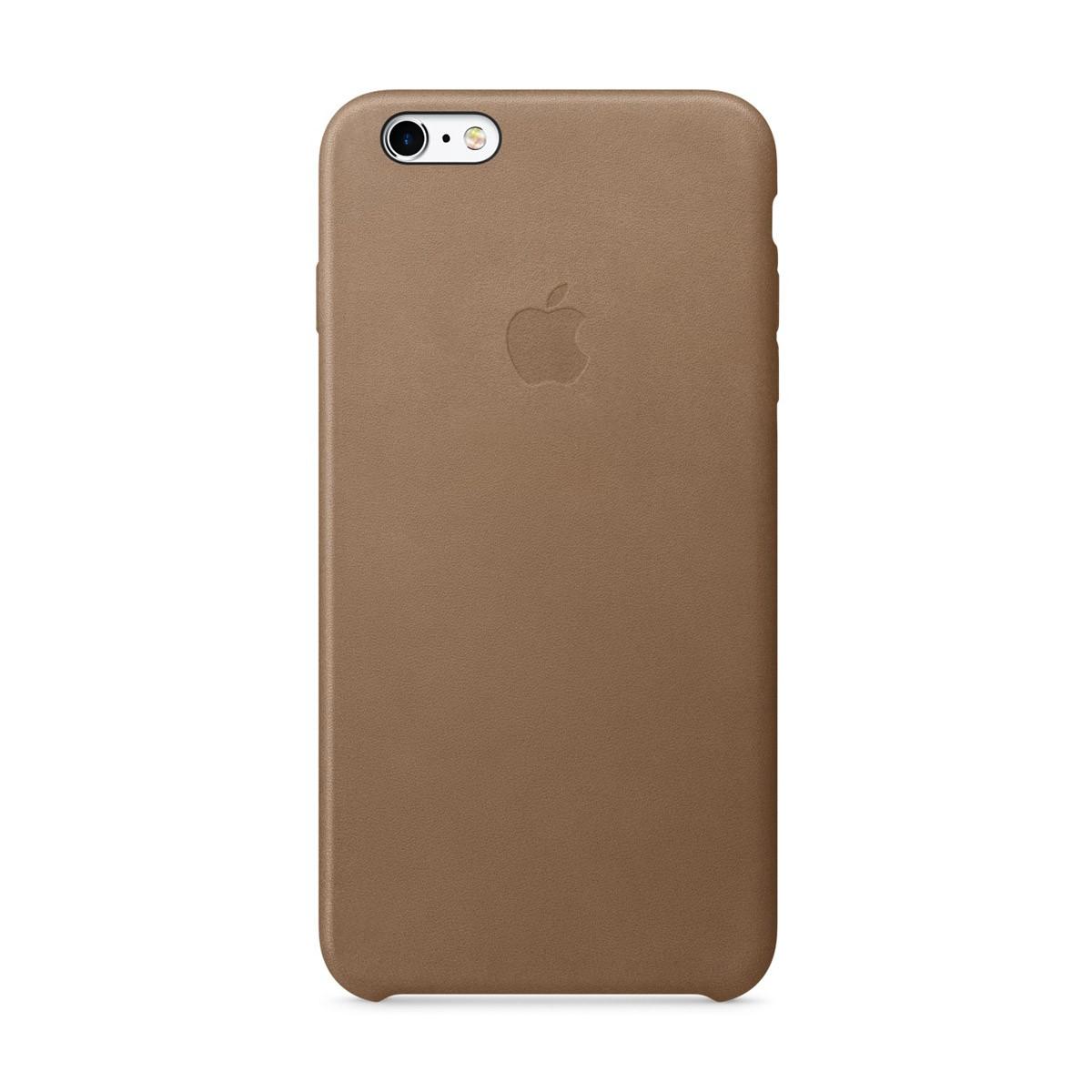 Apple kožený kryt na iPhone 6s Plus - hnědý